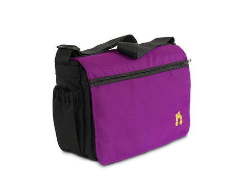 Out n About Changing Bag - Purple Punch