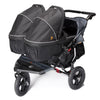 Out n About Nipper Double V4 Pushchair Steel Grey
