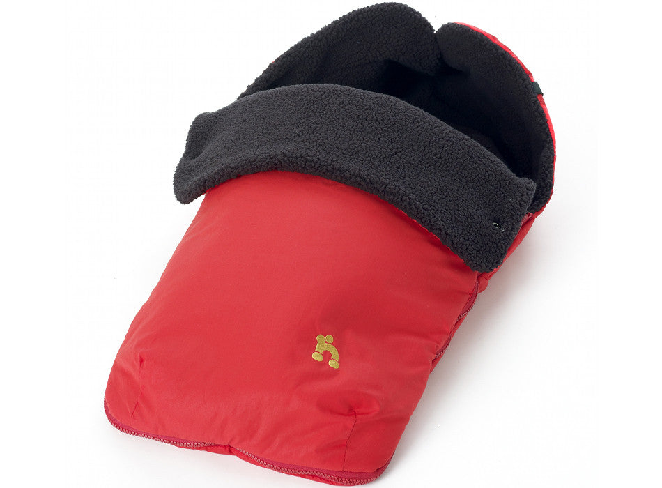 Out n About Nipper Footmuff Carnival Red - End of February Delivery