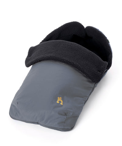 Out n About Nipper Footmuff Steel Grey