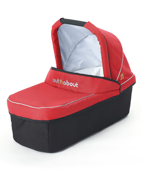 Out n About Nipper Single Carrycot Carnival Red