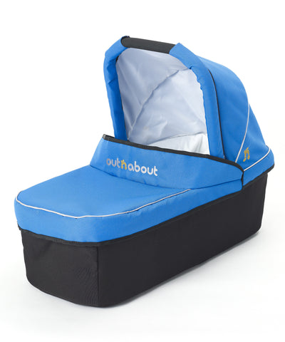 Out n About Nipper Single Carrycot Lagoon Blue