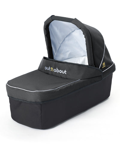 Out n About Nipper Double Carrycot Raven Black