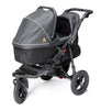Out n About Nipper Single Carrycot Steel Grey