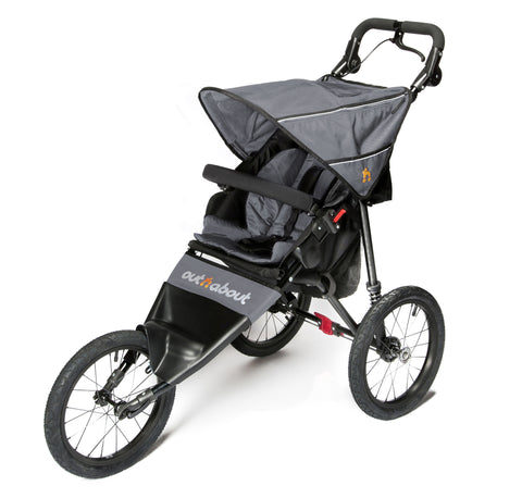 Out n About Nipper Sport V4 Pushchair - Steel Grey