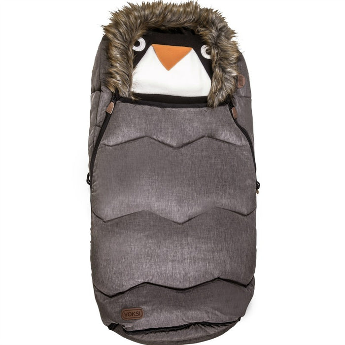 Voksi Urban Fur Footmuff - Melange Metallic