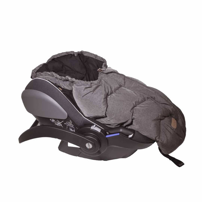 Voksi Move Footmuff - Melange Metallic