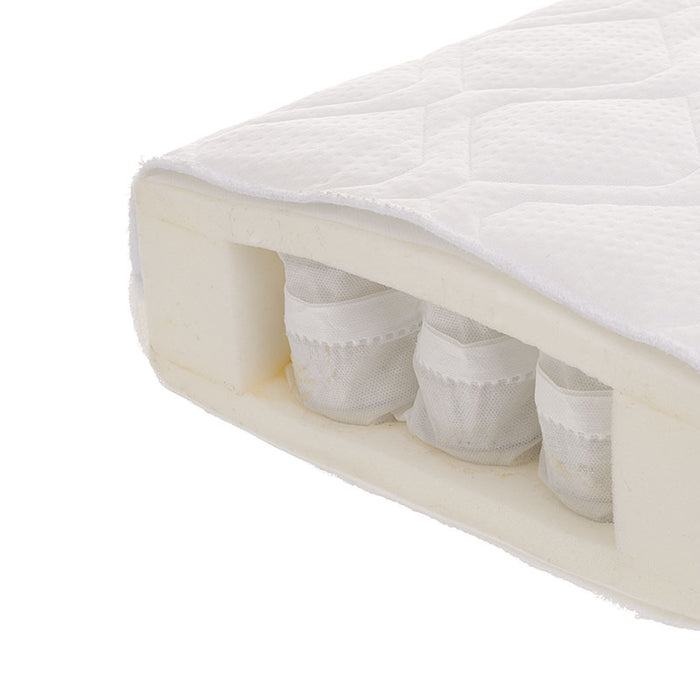 Obaby All Seasons Pocket Sprung Cot Bed Mattress 140x70cm