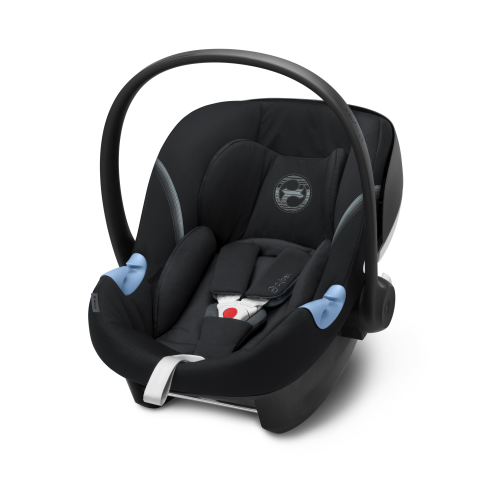 Cybex Aton M i-Size Car Seat - Deep Black - August Delivery