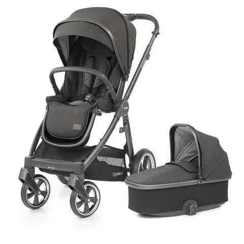 BabyStyle Oyster 3 Pushchair & Carrycot - Pepper - Due Late November