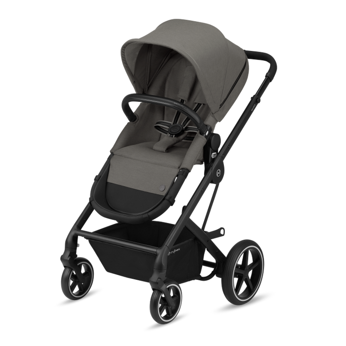 Cybex Balios S Lux - Black Chassis/Soho Grey