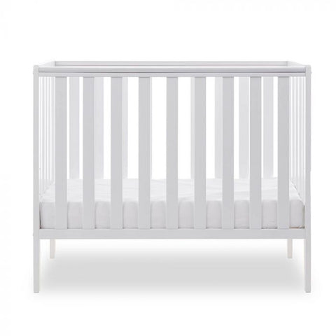 Obaby Bantam Space Saver Cot, White