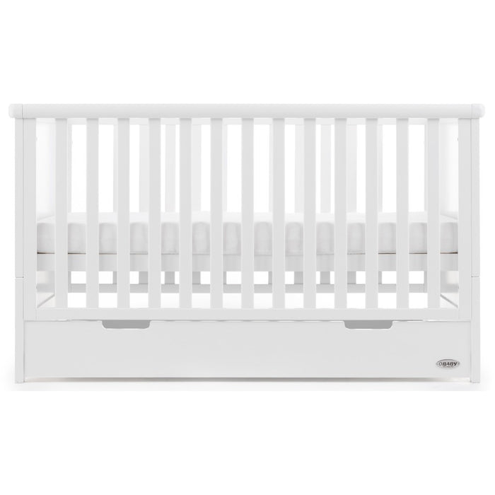 Obaby Belton 3 Piece Room Set - White - Delivery Mid October