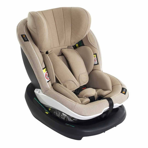 BeSafe iZi Modular i-Size Car Seat & ISOFix Base - Ivory Melange - End of October