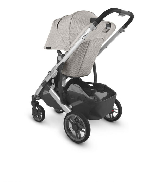 UPPAbaby Cruz & Carrycot 2020 with Cybex Cloud Z i-Size Car Seat & Swivel Base - Sierra (Dune Knit/Black Leather)