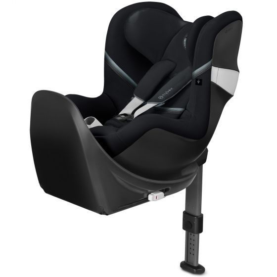 Cybex Sirona M2 i-Size Car Seat & Base - Deep Black
