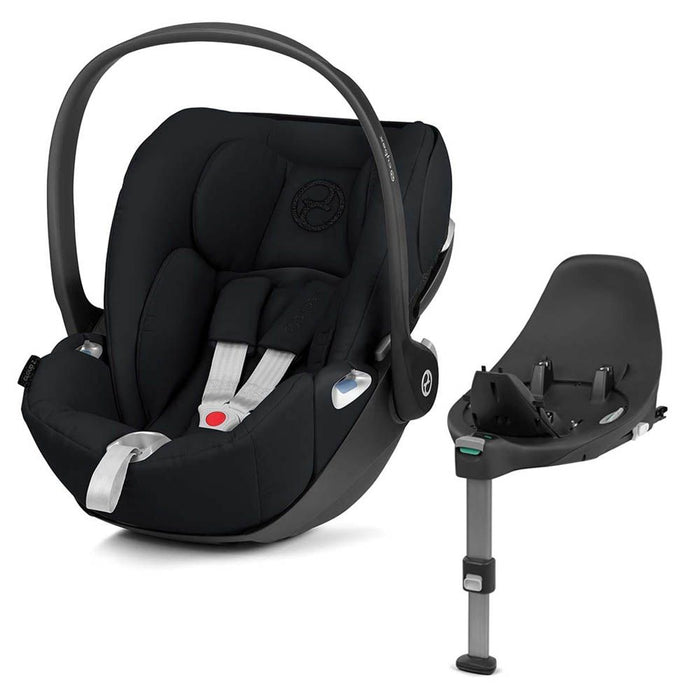 UPPAbaby Cruz & Carrycot 2020 with Cybex Cloud Z i-Size Car Seat & Swivel Base - Gregory (Blue Marl)