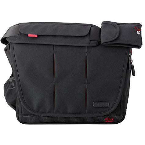 Bababing Deluxe Paternity Satchel City Black