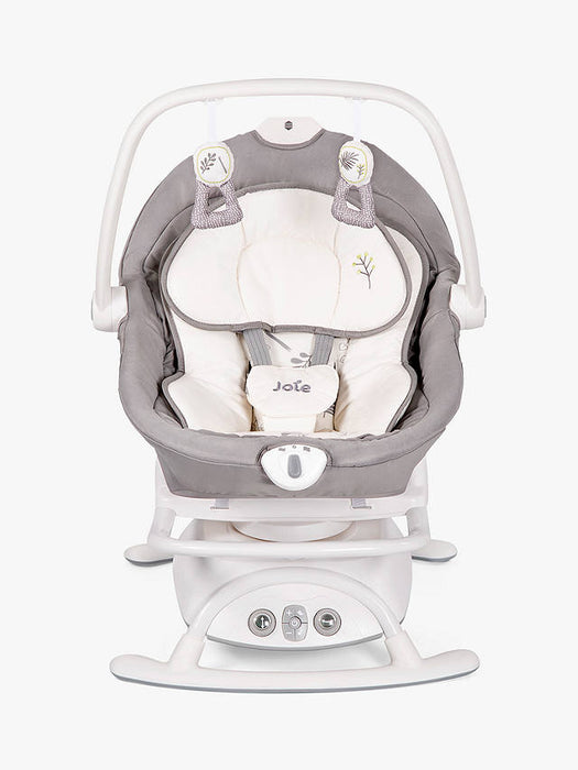 Joie Sansa 2 in 1 Baby Bouncer - Fern - August Delivery