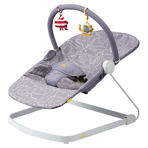 Bababing Float Baby Bouncer - Grey