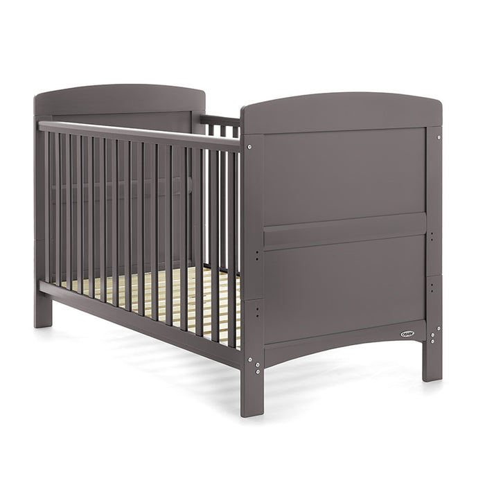 Obaby Grace Cot Bed - Taupe Grey