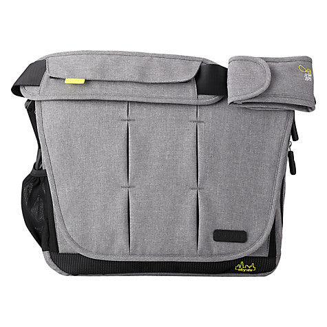Bababing Deluxe Paternity Satchel Grey