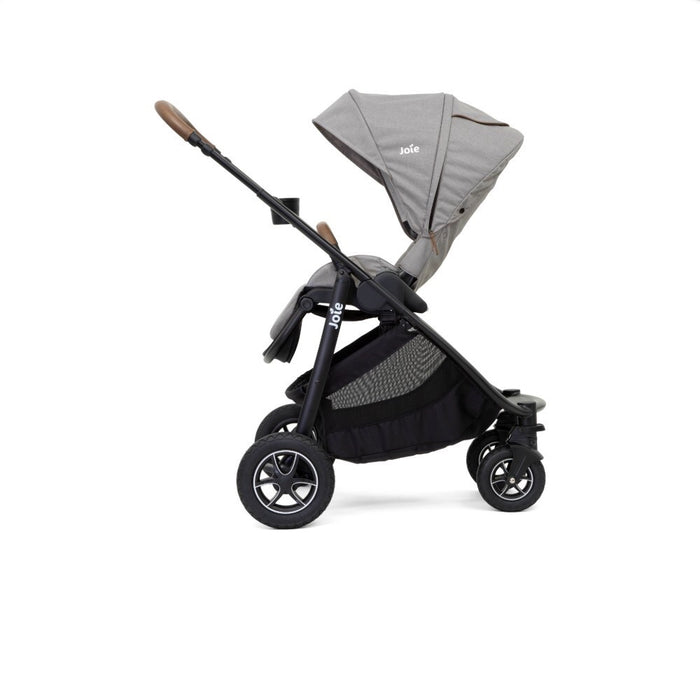 Joie Versatrax Pushchair & Carrycot & i-Snug Car Seat - Grey Flannel - Early November Delivery