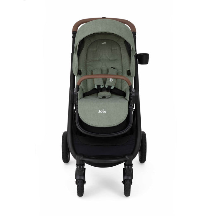 Joie Versatrax Pushchair & Carrycot & i-Snug Car Seat - Laurel Green - Delivery November
