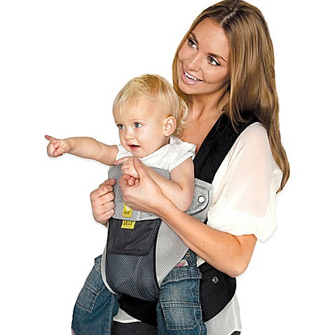 LÍLLÉbaby® Complete™ Airflow 6-in-1 Baby Carrier Grey/Silver