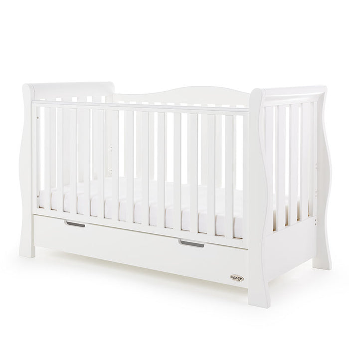 OBaby Stamford Luxe 4 Piece Room Set - White - October Delivery