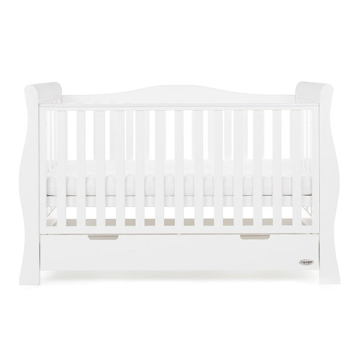OBaby Stamford Luxe 5 Piece Room Set - White