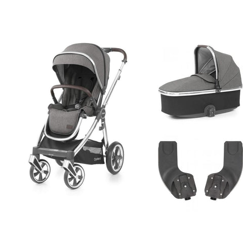 BabyStyle Oyster 3 Essential Bundle - Mercury on Mirror Chassis - Delivery Mid August