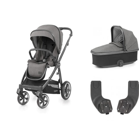 BabyStyle Oyster 3 Essential Bundle - Mercury on City Grey Chassis - Delivery End July