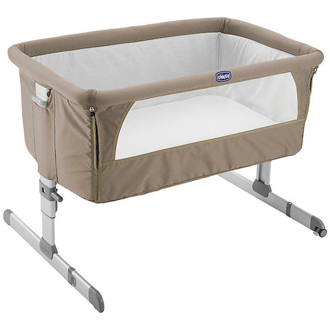 Chicco Next2Me Crib - Dove Grey