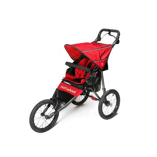 Out n About Nipper Sport V4 Pushchair - Carnival Red