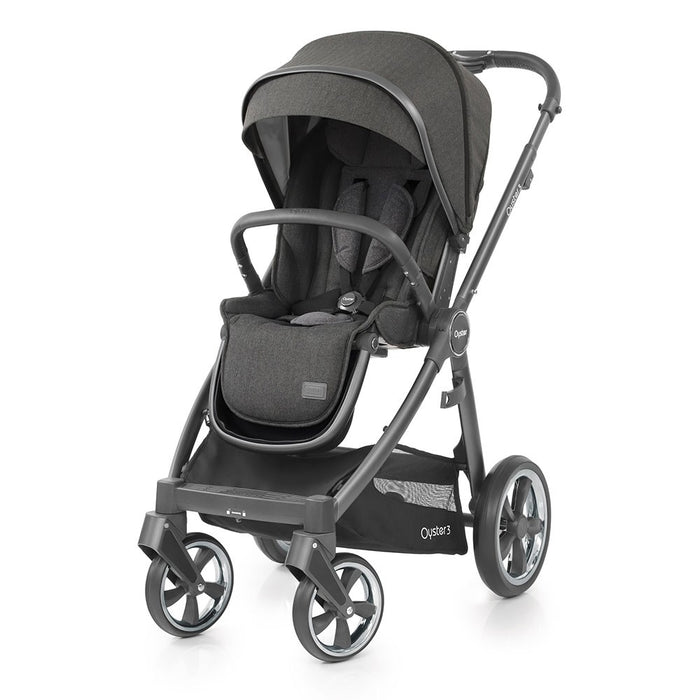 BabyStyle Oyster 3 Pushchair - Pepper on City Grey Chassis - Delivery Mid Dec