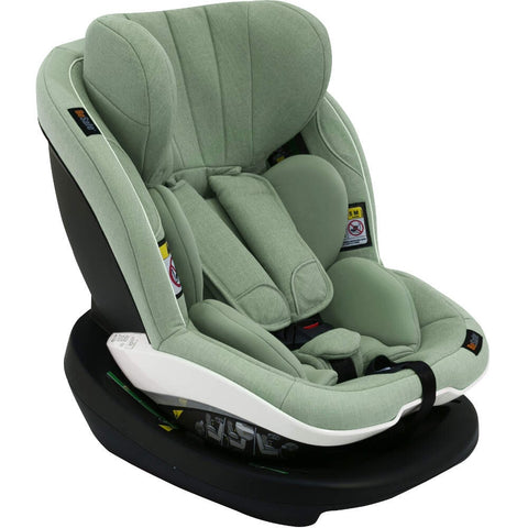 BeSafe iZi Modular i-Size Car Seat & ISOFix Base - Sea Green Melange - Delivery Early Jan 2019