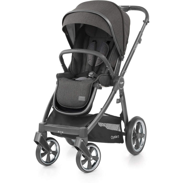 BabyStyle Oyster 3 Essential Bundle - Pepper on City Grey Chassis - Delivery Early March