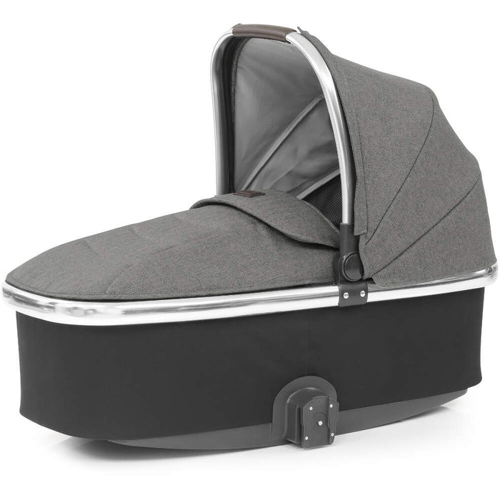 BabyStyle Oyster 3 Ultimate Bundle with Capsule i-Size Car Seat & Oyster Duofix Base - Mercury on Mirror Chassis - Late Nov Delivery