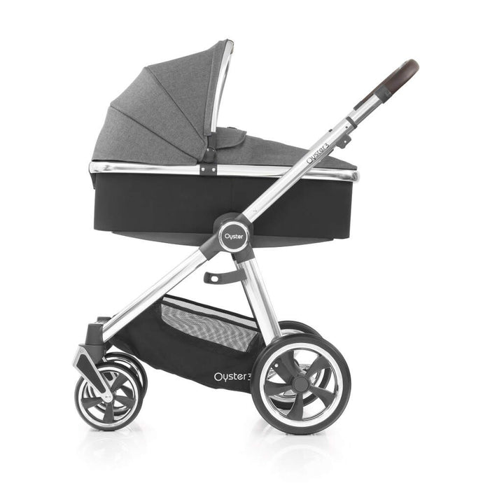 BabyStyle Oyster 3 Essential Bundle - Mercury on Mirror Chassis - Delivery Mid Feb