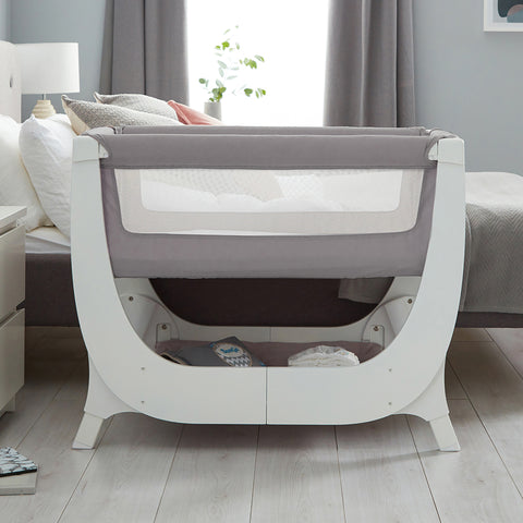 Shnuggle Air Bedside Crib - Cot Complete Sleep System