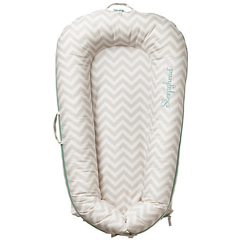 Sleepyhead Deluxe Cover, Silver Lining Chevron - available in store only