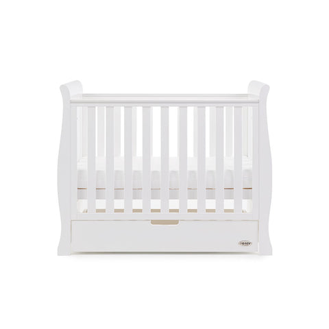 Obaby Space Saver Cot, Under Drawer & Changing Unit