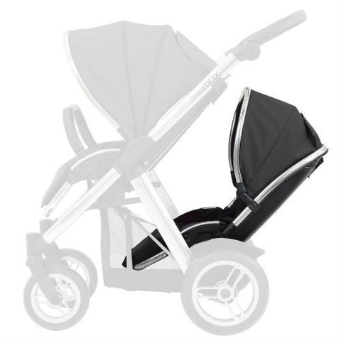 BabyStyle Oyster Max 2 Lie Flat Tandem Seat Colour Pack (Black)