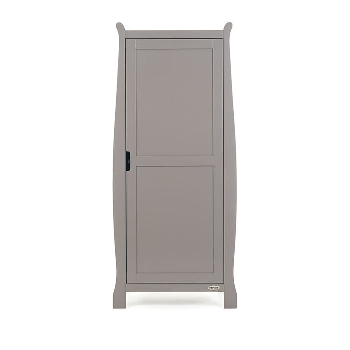 Obaby Stamford Single Wardrobe - Taupe Grey - FREE DELIVERY