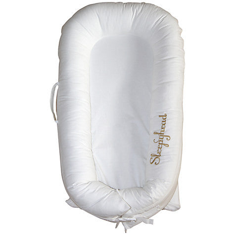 Sleepyhead Deluxe Portable Baby Pod - Pristine White - available in store only