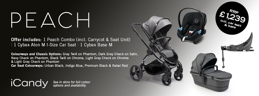 Cosatto Woop Pushchair with FREE car seat