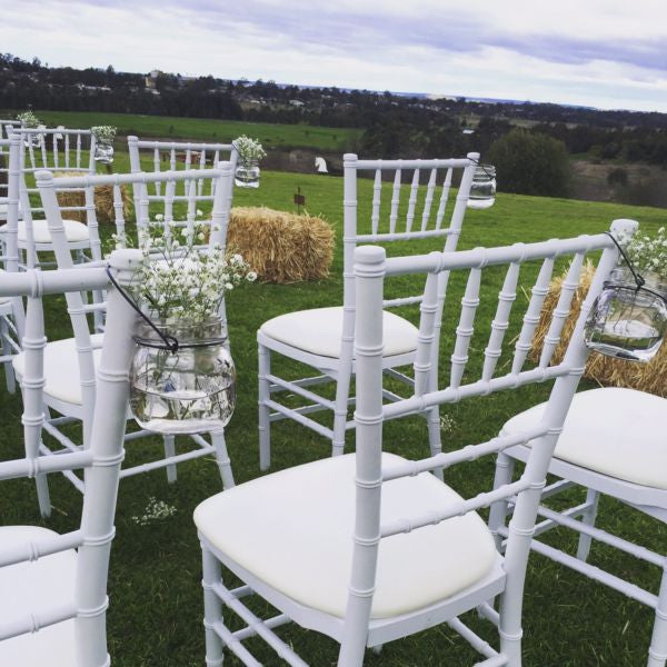 Tiffany Chair Wedding Ceremony Package (42 pieces) & Tiffany Chair Wedding Ceremony Package (42 pieces) u2013 Crystal Doll Bridal
