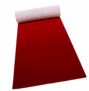 Red Carpet Runner - Ceremony Aisle Runners