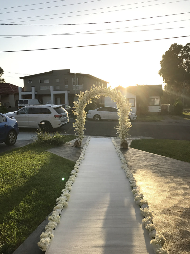 Cherry Blossom Flower Arch & Runner Deal!